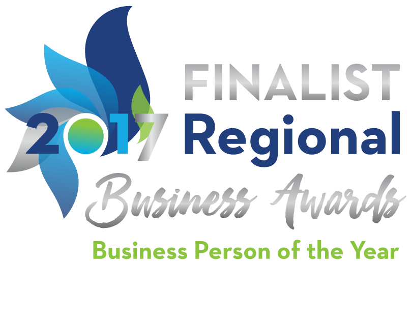 Finalist 2017 Regional Business Awards Business Person of the Year