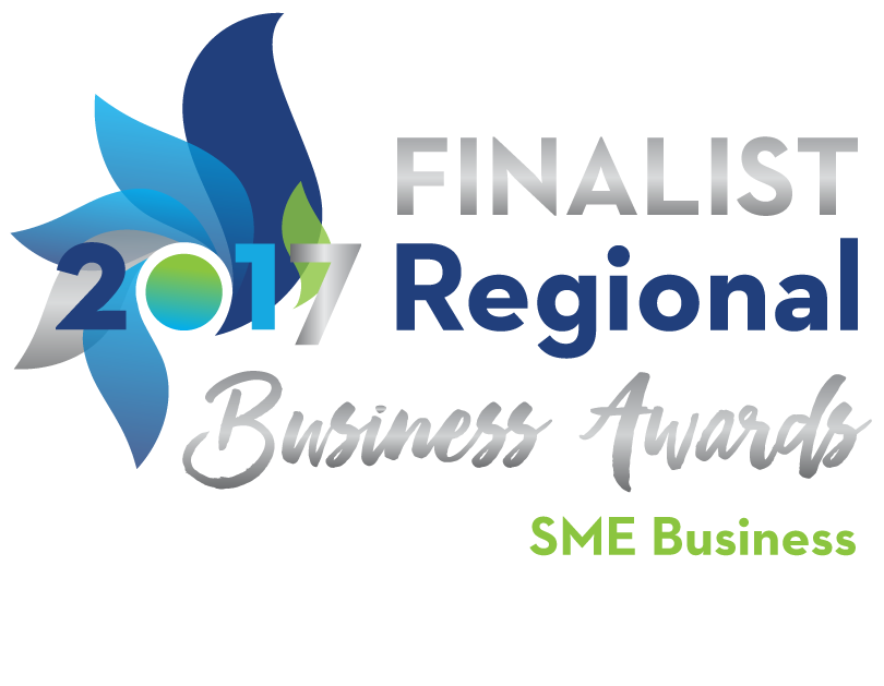 Finalist 2017 Regional Business Awards SME Business