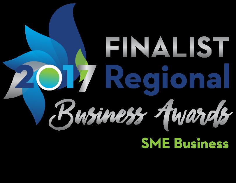 Finalist 2017 Regional Business Awards SME Business